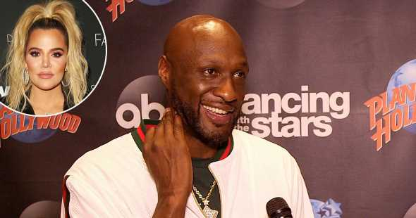 Lamar Odom Hopes Ex-Wife Khloe K. Supports Him on 'Dancing With the Stars'