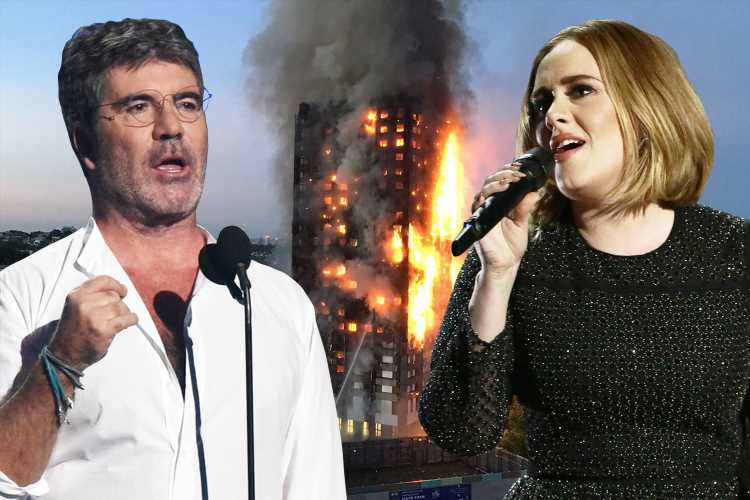 Simon Cowell bans Adele songs from his shows after she snubbed Grenfell charity single – The Sun