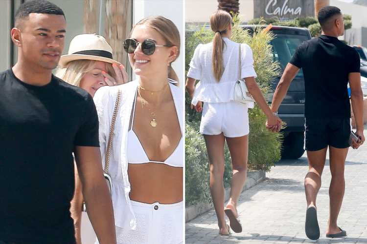 Wes Nelson and new girlfriend Arabella Chi look loved-up in Ibiza a day after confirming romance