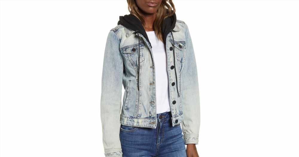 This Denim Jean Jacket Is the Coziest One You'll Ever Wear
