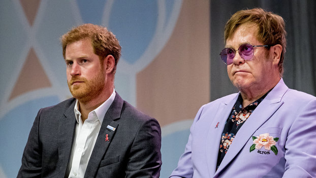 Elton John Invoked Princess Diana to Defend Meghan Markle and Prince Harry