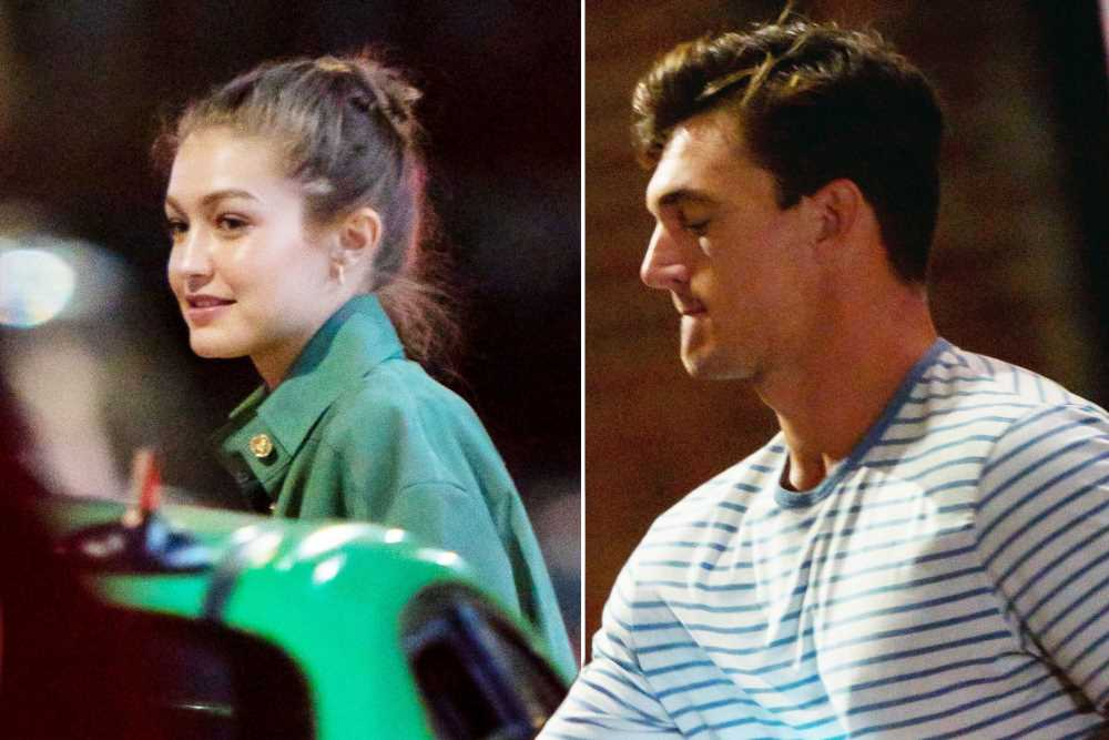 'Bachelorette' alum Tyler Cameron spends late night with Gigi Hadid