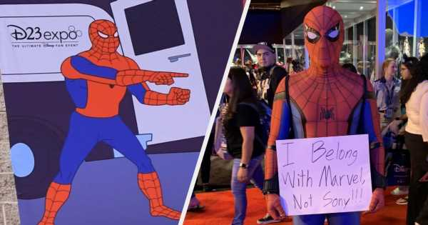 Spider-Man Was Everywhere At Disney's D23 Expo, Despite Leaving The MCU