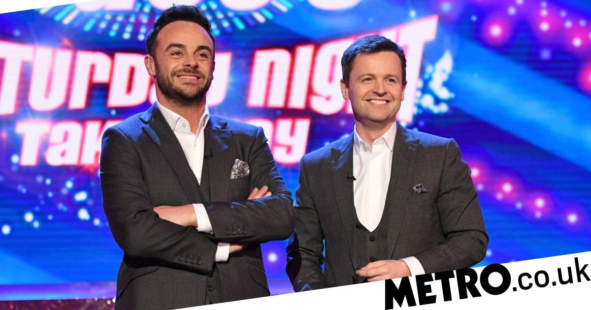 Ant McPartlin returning to Saturday Night Takeaway after two years