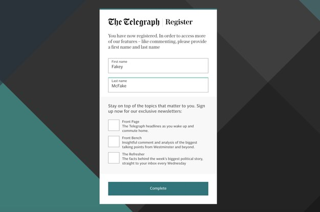 """The Daily Telegraph Is Counting People With Fake Email Addresses As Its """"Registered Users"""""""