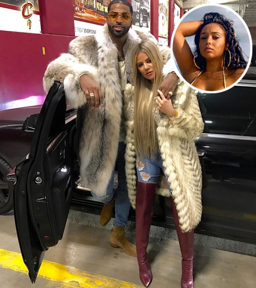 Tristan Thompson DENIES Cheating On First Baby Momma With Khloé Kardashian!