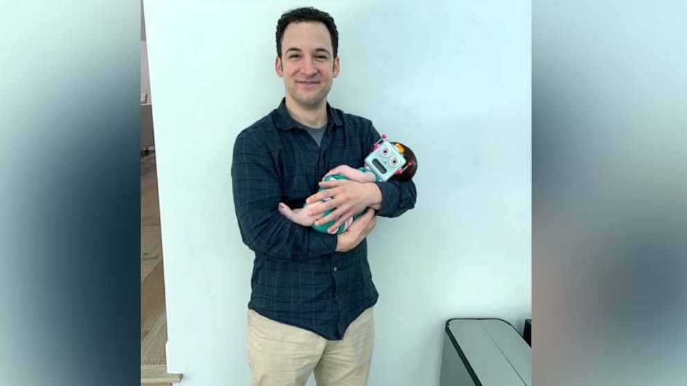 Boy meets Topanga's baby: Ben Savage gushes over co-star's newest family member