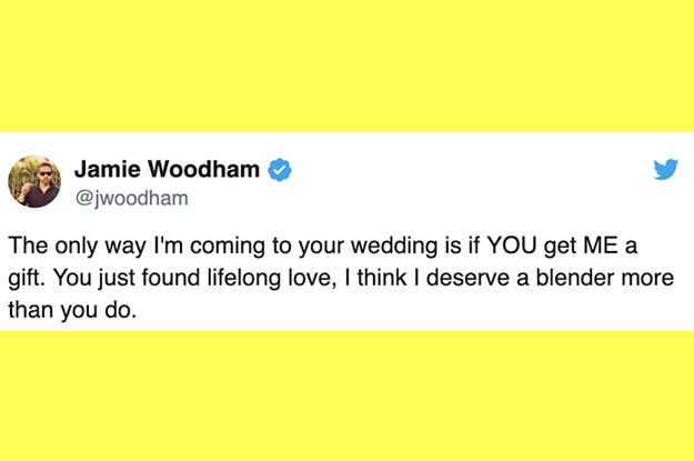 21 Brutally Real Wedding Tweets That Are Also Really, Really Funny