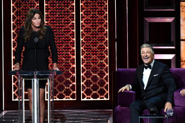 Caitlyn Jenner Takes Jabs as Well as Throws 'Em at Alec Baldwin Roast