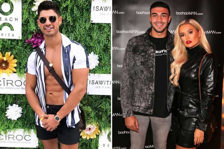 Anton fuels Love Island cast feud as he snubs both Molly-Mae and Tommy Fury's launches to party in Ibiza