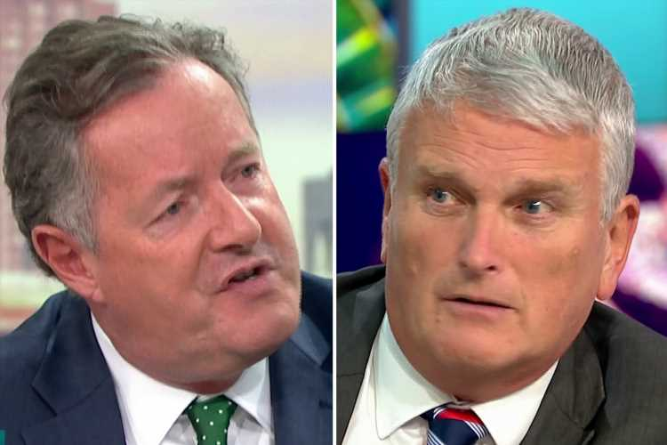 Piers Morgan asks DUP politician boycotting Strictly same sex couples 'are you gay?' after 'mauling' him on Good Morning Britain