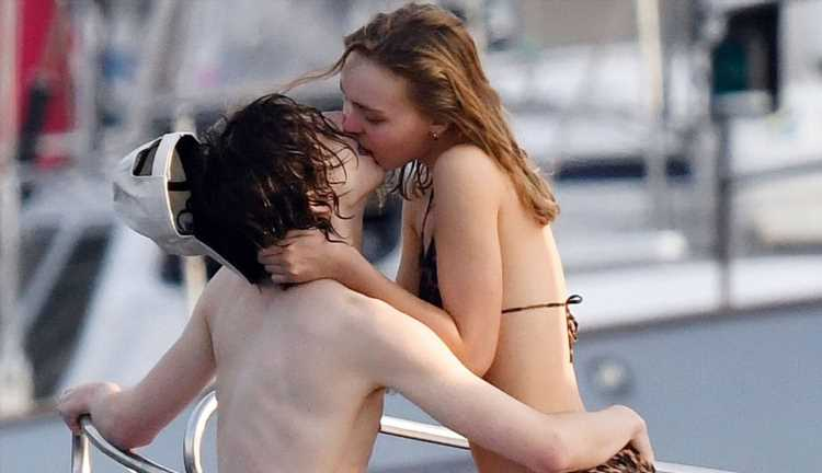 Timothee Chalamet & Lily-Rose Depp Flaunt PDA, Share Steamy Kiss in Capri!