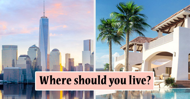 Build Your Dream Mansion And We'll Tell You Which City You Should Live In