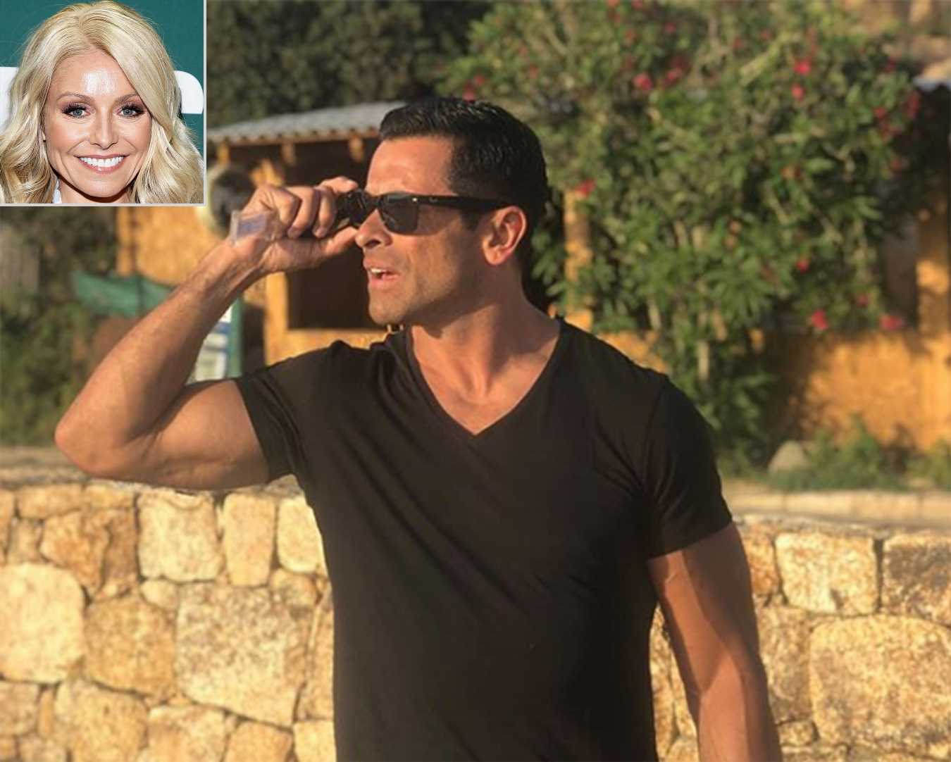 Kelly Ripa Shares Throwback Photo of 'Daddy' Mark Consuelos in Corsica 'Lookin for Love'