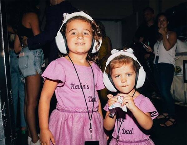 Kevin and Danielle Jonas' Girls ''So Proud'' of the Jonas Brothers