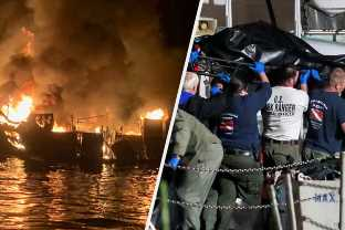 The Fire That Killed 34 People On A California Dive Boat Spread While The Entire Crew Was Asleep, Investigators Say