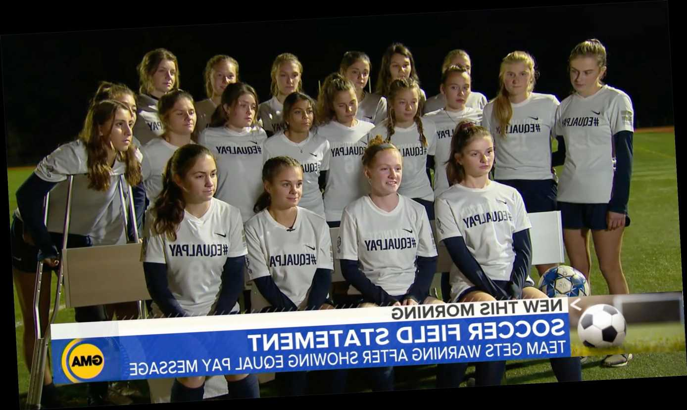 High School Girls Soccer Team Penalized for Revealing 'Equal Pay' Shirts Under Jerseys