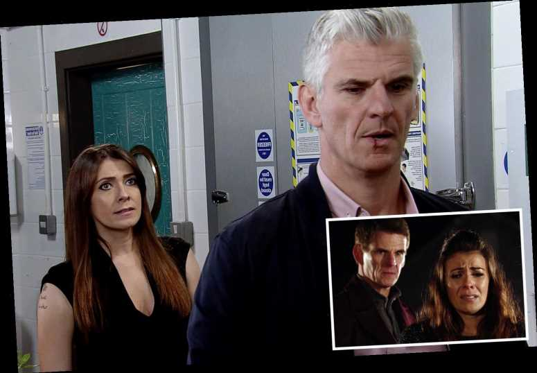 When does Michelle find out about Robert and Vicky in Coronation Street? The truth's about to come out