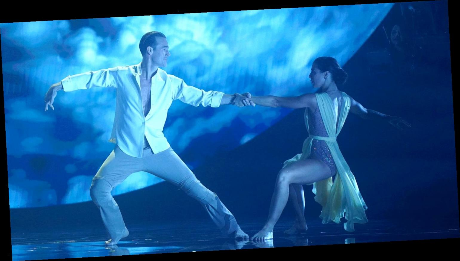 James Van Der Beek Gets a Perfect 30 for His 'DWTS' Contemporary Dance (Video)