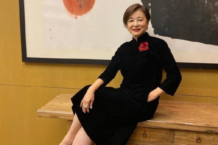 Lin Ching-hsia celebrates 65th birthday after attending Fei Yu-ching's concert