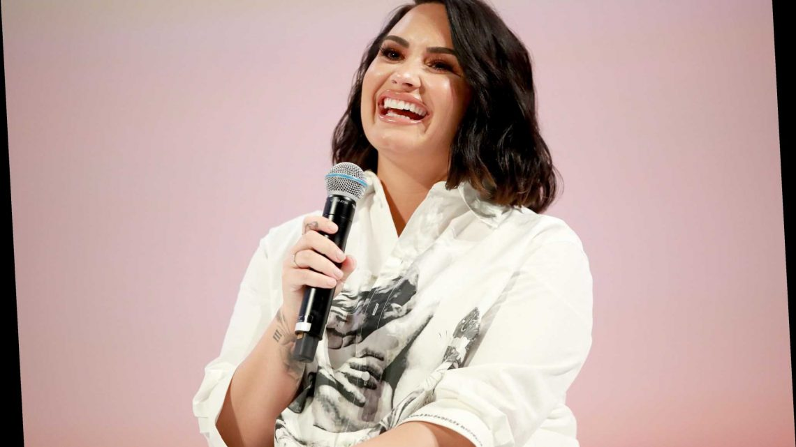 Demi Lovato Makes Powerful Declaration With New Neck Tattoo