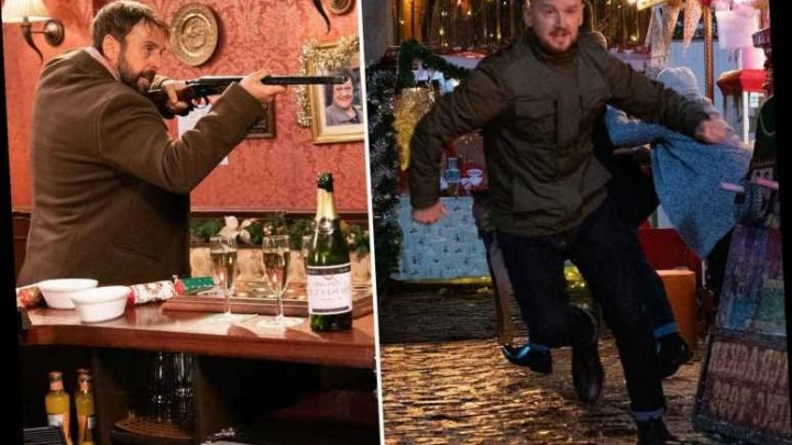 Coronation Street spoilers: Gary kidnaps Derek to stop him seeing his kids at Christmas leading to mass shooting horror