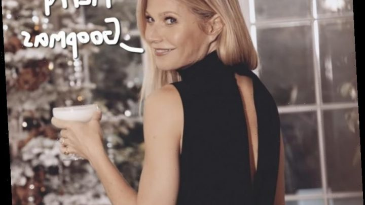 Gwyneth Paltrow Steals A Vibrator & Trims The Tree In Goop Holiday Ad — Watch!