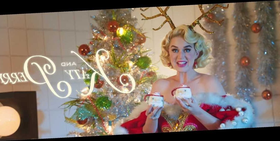Naked Katy Perry Gets a Massage from a Reindeer in Video for New Song 'Cozy Little Christmas'