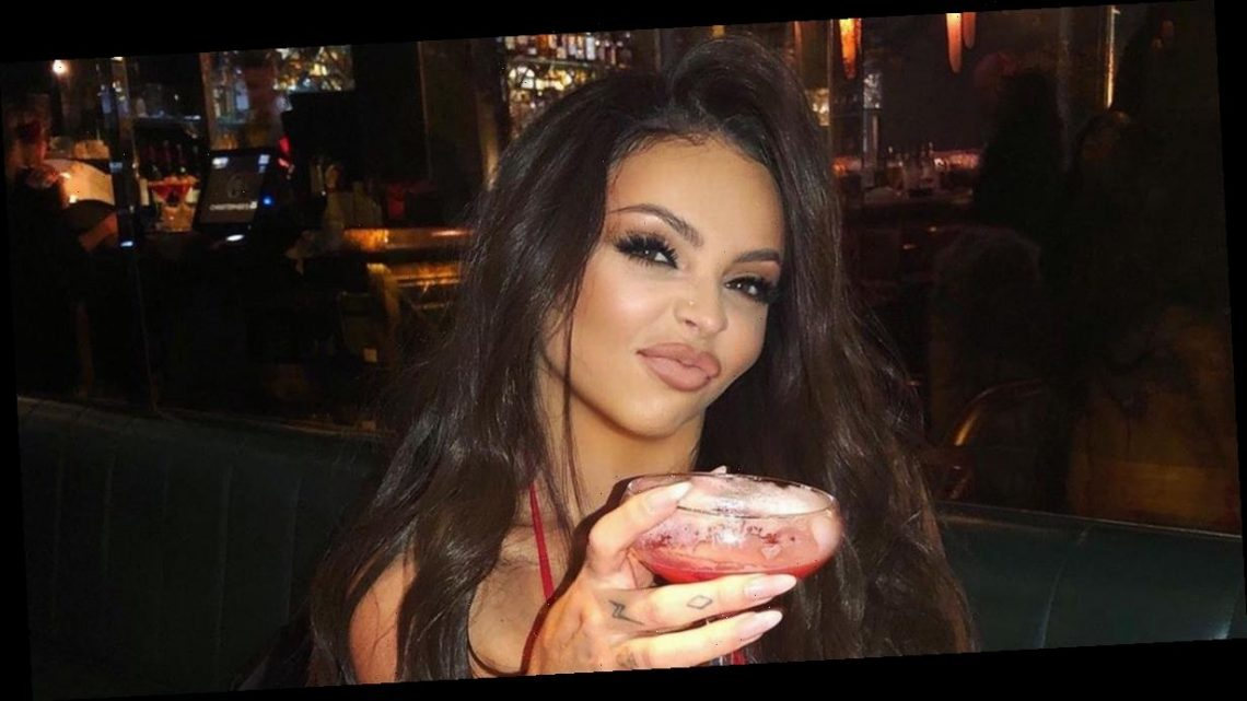 Little Mix Jesy Nelson enjoys boozy Valentine's date with boyfriend Chris Hughes