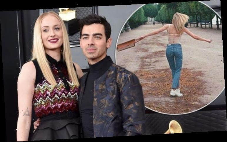 Sophie Turner's husband Joe Jonas shares pic of her facing away from lens amid baby 'news'