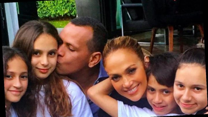 Jennifer Lopez and Alex Rodriguez share unseen photos of twins Emme and Max as they celebrate their 12th birthday