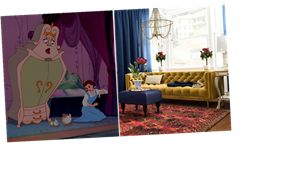 Modsy's Disney Princess Zoom Backgrounds Put You In The Homes Of Your Fave Characters