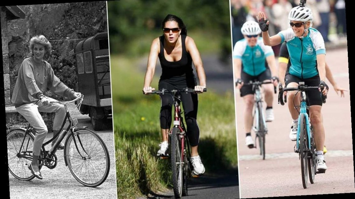 On your bike! 10 brilliant photos of the royals enjoying a cycle ride