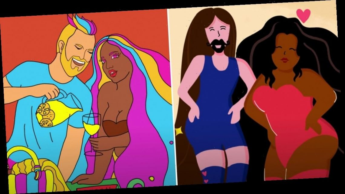 """Rainbows, Glitter, and Corgis: Lizzo and the Fab 5 Party It Up in the """"Soulmate"""" Music Video"""