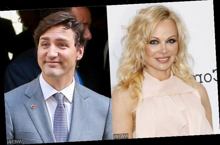 Pamela Anderson Wants to Mentor Justin Trudeau Into Becoming a Vegan