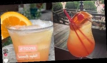 You Can Copy Disney Park's Tokyo Sunset Cocktail at Home in Four Easy Steps