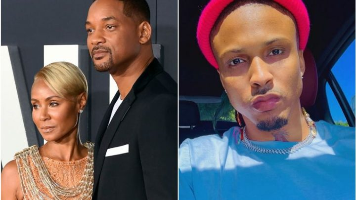 Actress Jada Pinkett Smith, wife of actor Will Smith, admits to past affair with singer August Alsina