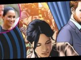 Prince Harry and Meghan Markle's Royal Exit Featured in Comic Book