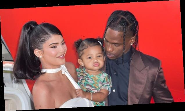 Travis Scott Shows Love For Kylie Jenner On Her 23rd birthday With New Photos with Stormi