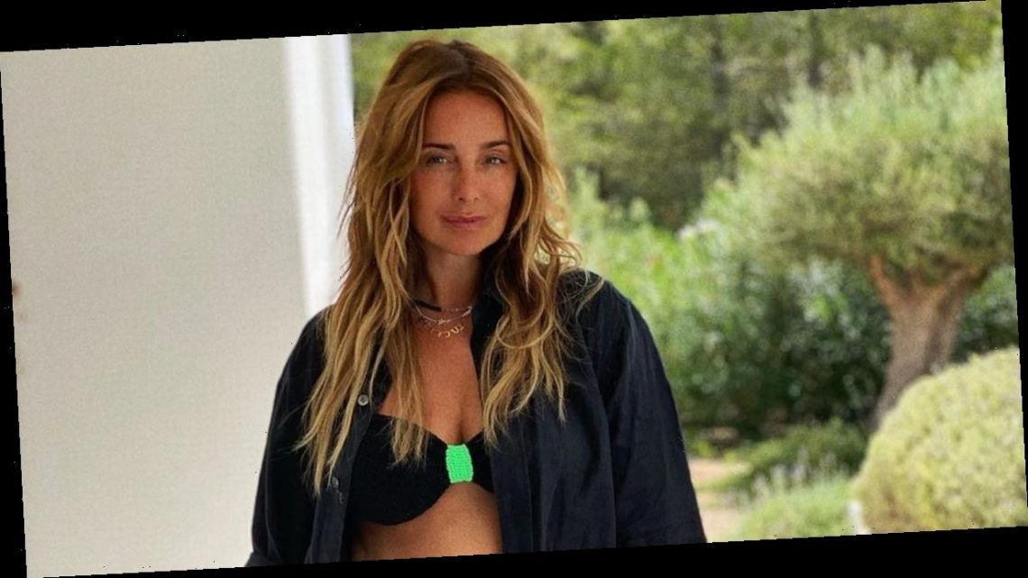 Louise Redknapp's boobs spill out of tiny bra in jaw-dropping unearthed snaps