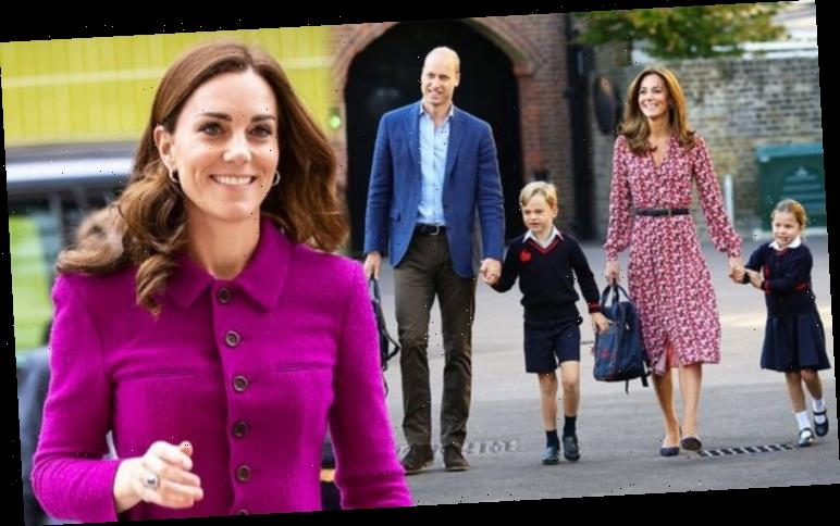 Kate Middleton's body language suggests a 'hands-off' approach to parenting
