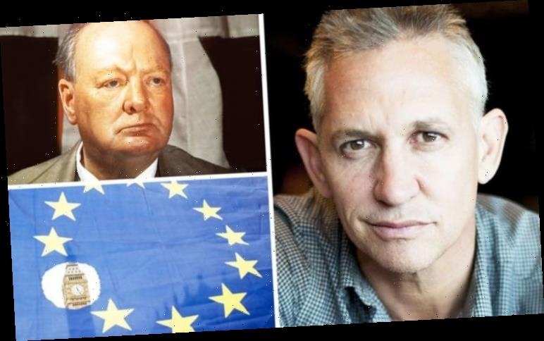 Gary Lineker: How Winston Churchill inspired Match of the Day star's Brexit stance