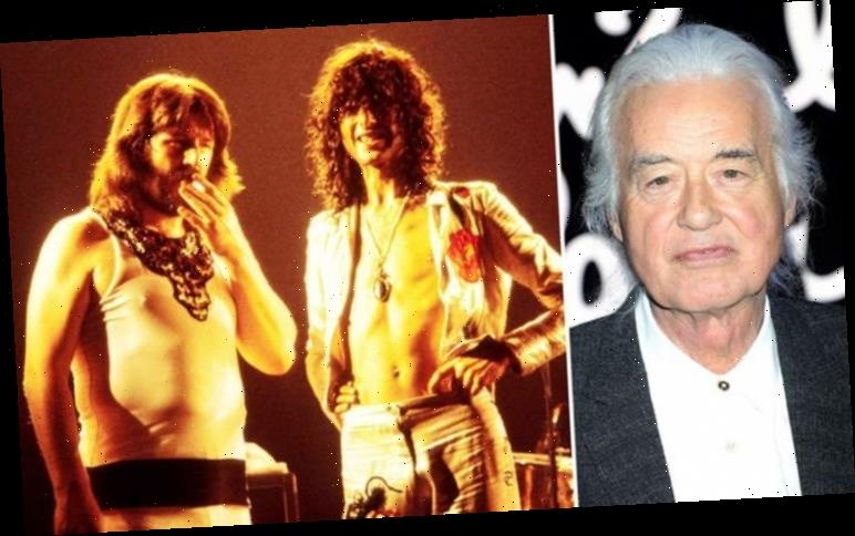 Led Zeppelin: Jimmy Page pays tribute to 'HEROIC' John Bonham on 40th anniversary of death