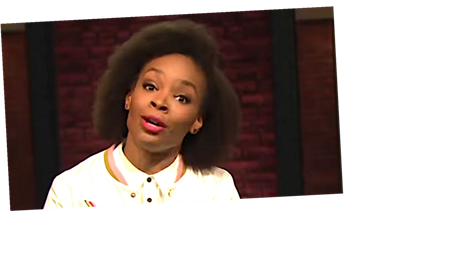 Amber Ruffin Rips Trump, Acts Out Racism And Roller-Skates In Epic Bit