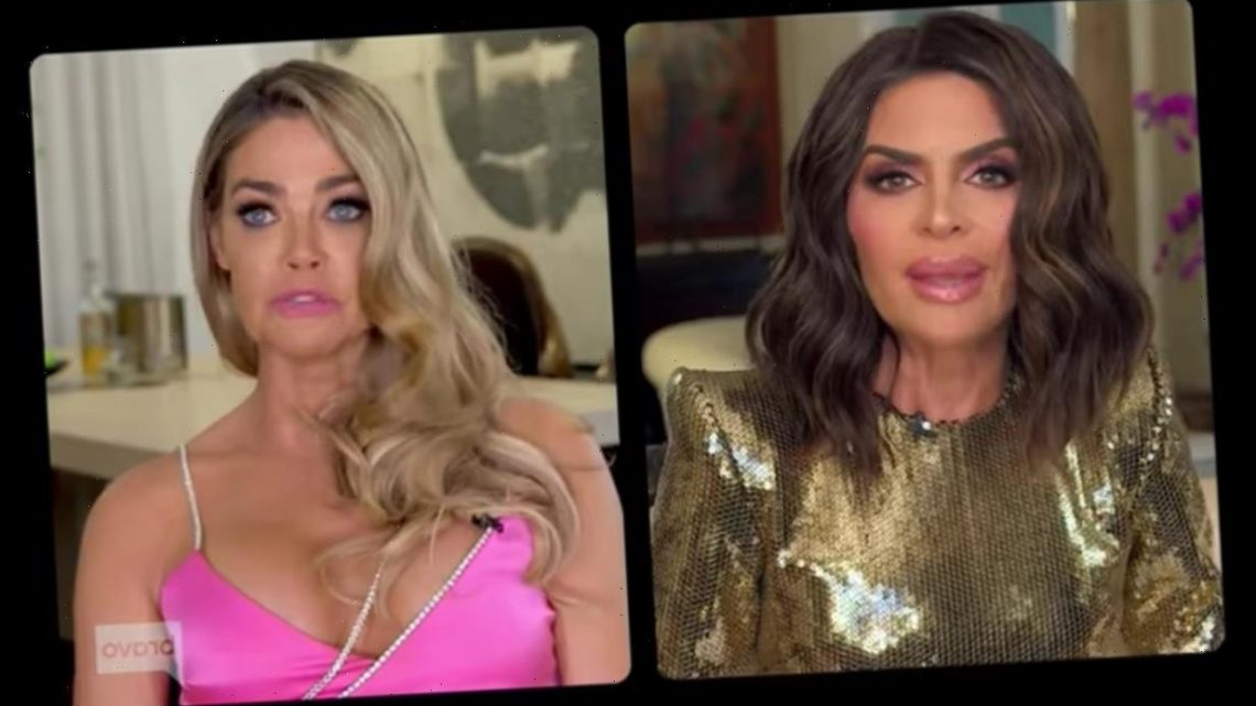 Lisa Rinna brought up Heather Locklear on RHOBH — Here's why Denise Richards was upset