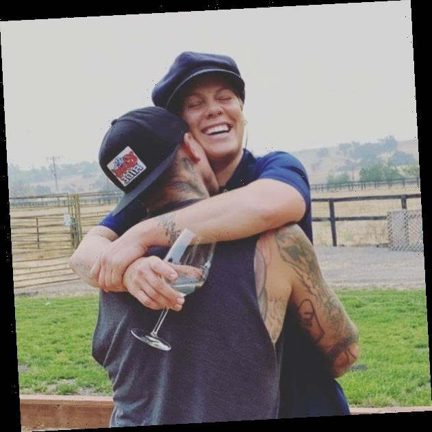 Pink on her marriage to Carey Hart: 'We're either fighting or laughing'