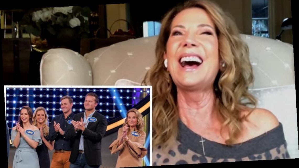 Kathie Lee Gifford Reacts To Son-In-Law's Viral Celebrity Family Feud Bulge
