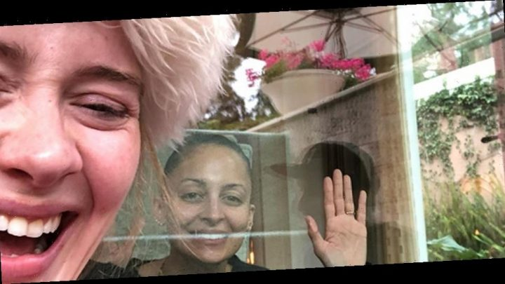 Adele Shares a Funny Prank in Honor of Nicole Richie's Birthday!