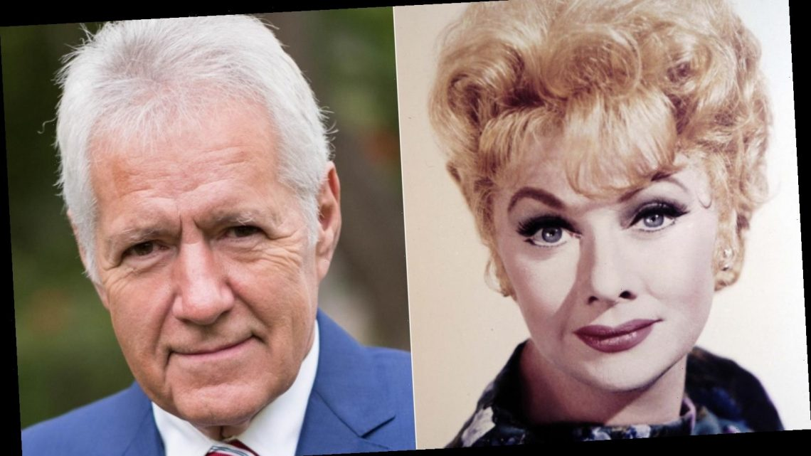 How Lucille Ball helped Alex Trebek get his job on Jeopardy!