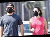 Lea Michele Enjoys Post-Baby Workout Walk With Hubby Plus 4 More Pics Of Celebs Breaking A Sweat